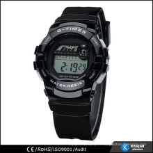 Montre à bracelet en silicone montre numérique pour sport