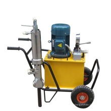 Portable hydraulic core splitter,hard rock drilling,rock splitter for sale