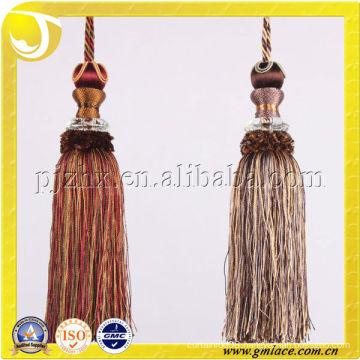 China Supplier Of Decorative Small Tassel On Alibaba Rayon Thread Tassel