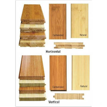Hot Sale alta qualidade natural carbonizar vertical horizontal Strand Woven Bamboo Flooring