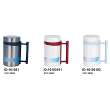 Solidware Stainless Steel Vacuum Mug with Handle