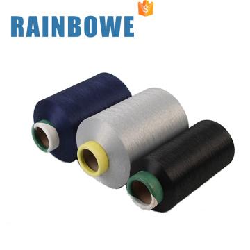 Polyester luftgewickeltes Garn mit Spandex 3075 luftüberzogenem Spandex Garn