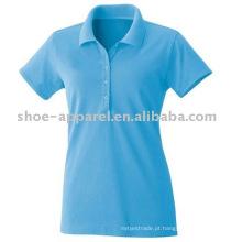 Hot sale Mulher WANAX Promoção produtos Polo T-shirt