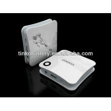 Haute capacité puissance Banque 4500mah OEM accueilli pour smartphone Apple/samsung/lg/nokia/blackberry/tous