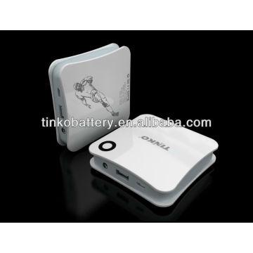 Hohe Kapazität macht Bank 4500mah Soem begrüßt für Apple/Samsung/Lg/Nokia/Blackberry/alle smartphone