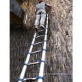 Escalera de paso extensible de la extensión de aluminio telescópica multiusos plegable de los 3.2m
