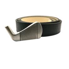 Hebilla de Metal de Cinturón de Cuero Real de Golf Club Custom