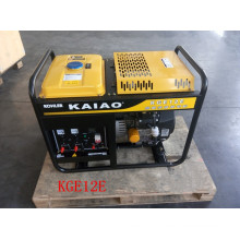 AC Single Phase 50Hz/10kw Key Start Petrol Generator with KOHLER Engine
