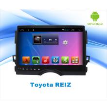 Android System GPS Car DVD para Toyota Reiz 10,1 pulgadas de pantalla táctil con Bluetooth / WiFi / TV / MP4