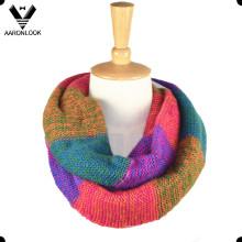 Famous Knitting Town Tonglu Bufandas de alta calidad de Infinity para las mujeres