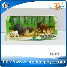Хорошие рекламные подарки пластиковые 3d игрушки динозавров набор животных для детей на продажу H144528