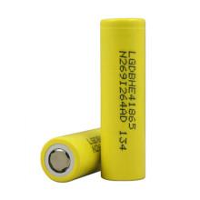 Original gelb Lghe4 18650 Batterie Icr18650he2 / He4 2500mAh 35A Entladung