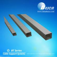 Galvanisierte Außenkabelkanäle (UL, IEC, SGS und CE)