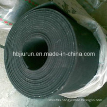 Hot Sale Black SBR Rubber Floor Sheet with Cloth Insertion