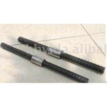 parallel thread rebar coupler