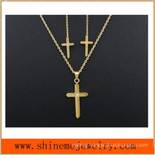 Stainless Steel Jewelry Three Pieces of Fashion Personality Studded with Necklace (SSNL2648)