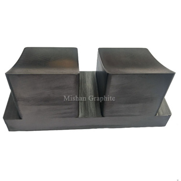 Raw Graphite Rounds Molds for Silver Melting