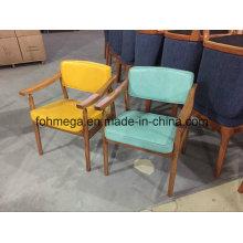 Chaise visiteur moderne en bois frais (FOH-BCC33)