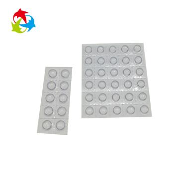 Прозрачная пластиковая блистерная упаковка капсулы для таблеток
