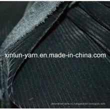 100% полиэстер с тиснением флокирующей трикотажной ткани для дивана / мебели