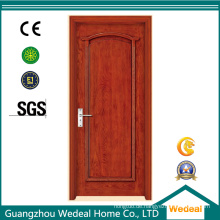Architekturholz PVC-Tür mit kundengebundener Struktur und Hardware