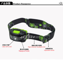 for camping rechargeable led headlamp cree xp-e