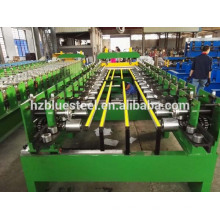 Colored Steel EPS & Rockwool Sandwich Panel Use Roof Panel Sheet Roll Forming Machine