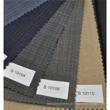 Dunkelgraue Farbe 70 Wolle und 30 Polyester Mischung Stoff Anzug Stoff Griff Fall Wolle Stoff für Herren Anzug