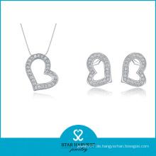 2016 beste Qualität Frauen Halskette Silber Schmuck (J-0001)