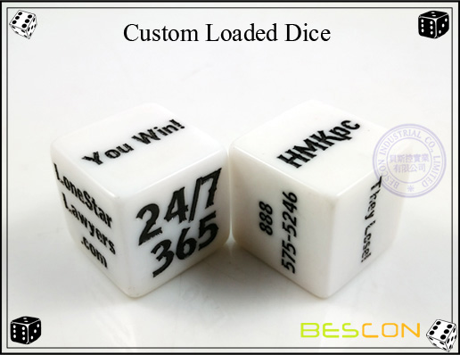 Custom Loaded Dice