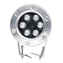 Foco LED IP68 de color emisor de 304SS para exteriores