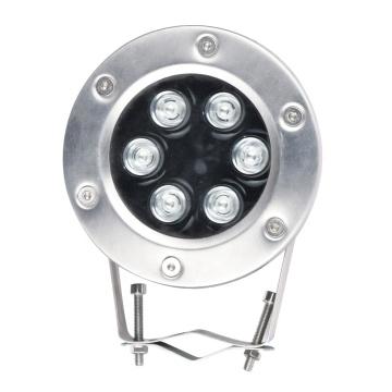304SS emitindo luz de spot LED IP68 colorida para exterior