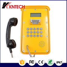 Tunnel Telefon VoIP Telefon Knsp-16 LCD Wasserdicht Industrial Robust Telefon