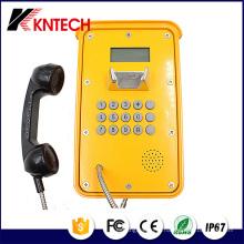 Video IP Phone Pipeline Phone Telefone à prova de intempéries (Knsp-16) Kntech