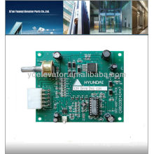 HYUNDAI Lift station clock board, elevator station clock board DZZ-XDDT