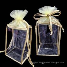 Custom PVC Waterproof Cosmetic Gift Packaging Bag