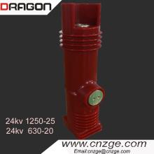 Poteau intégré de 24KV pour le disjoncteur à vide