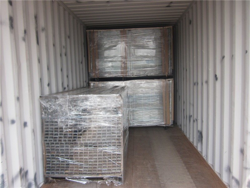 welded fence panel packing