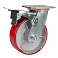 4 Inch Industrial Caster Wheel With PU Wheel