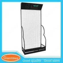 mobile accessories grid wall wire mesh metal display stand
