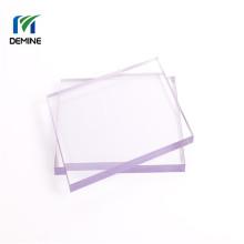 Puerta de granero de lámina de policarbonato con revestimiento duro transparente