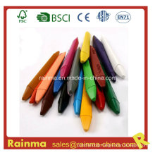 Triangel Plastic Crayon for Stationery Supply