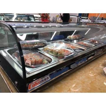 freezer display sushi counter atas