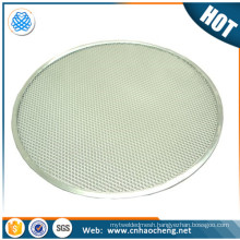 20 inch stainless steel wire mesh pizza tray/barbecue bbq grill net