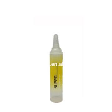 Largo transparente de la nariz de la aguja 5ml Tubo cosmético de 5 capas