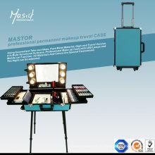 Mastor Professional Новый дизайн Traval Чемодан для постоянного макияжа