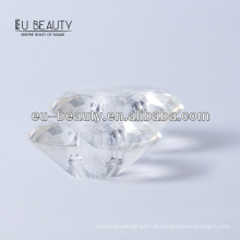 Runde Diamantform transparente Surlyn Cap