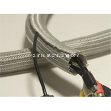 Self Closing Braid Cable Perlindungan Lengan Electric Wrap