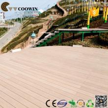 Tipo Engineered do revestimento, madeira-plástico Composto técnico, decking composto plástico de madeira do wpc para exterior