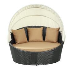 Открытый досуг мебель Pe плетеный дизайн солярия
